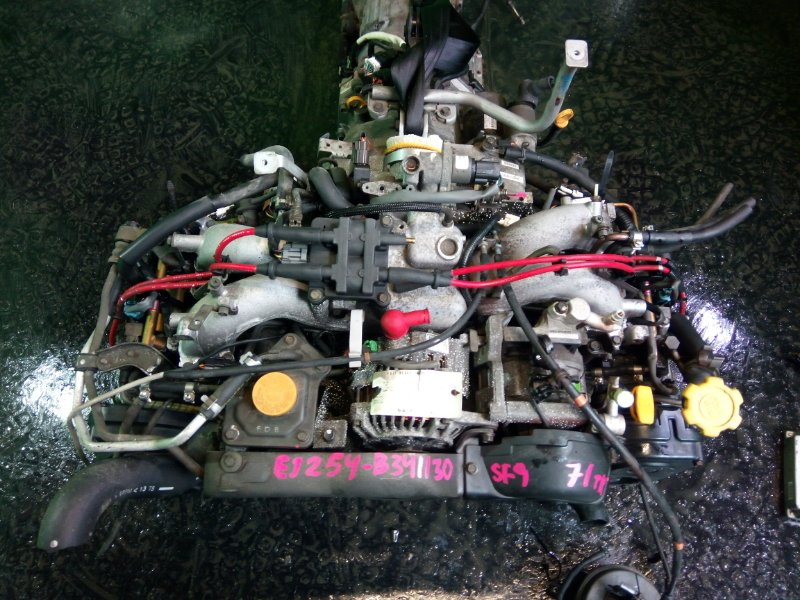Двигатель Subaru Forester SF9 EJ254 2001 (б/у)