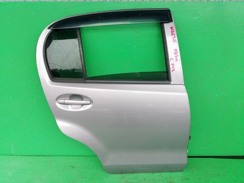 Дверь Toyota Passo KGC35 задняя правая (б/у)
