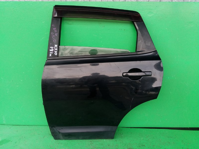 Дверь Nissan Dualis J10 задняя левая (б/у)