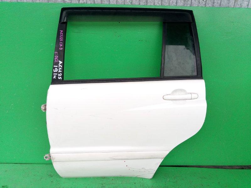 Дверь Toyota Kluger ACU25 задняя левая (б/у)