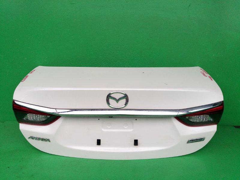 Крышка багажника Mazda Atenza GJEFP (б/у)
