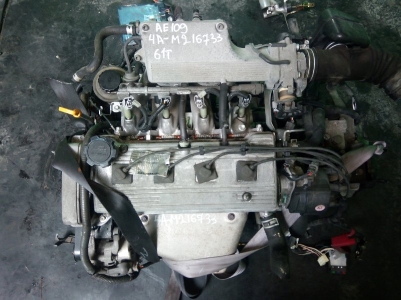 Двигатель Toyota Corolla AE109 4A-FE (б/у)