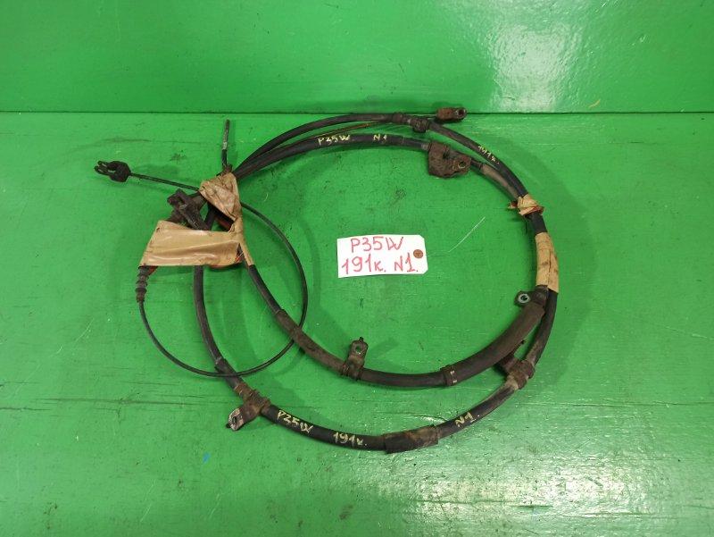 Тросик ручника Mitsubishi Delica P35W задний (б/у) №1