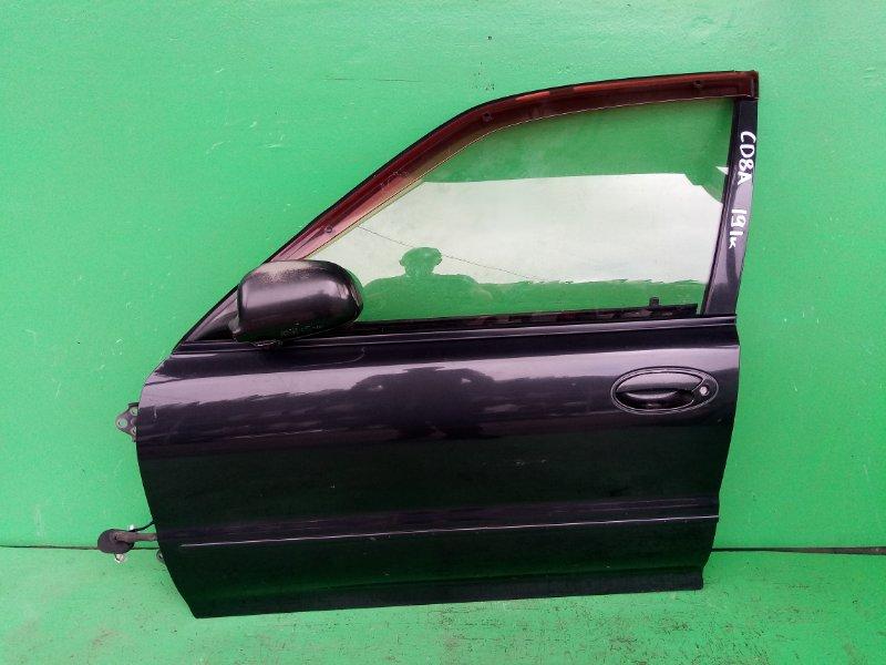 Дверь Mitsubishi Lancer CD8A передняя левая (б/у)
