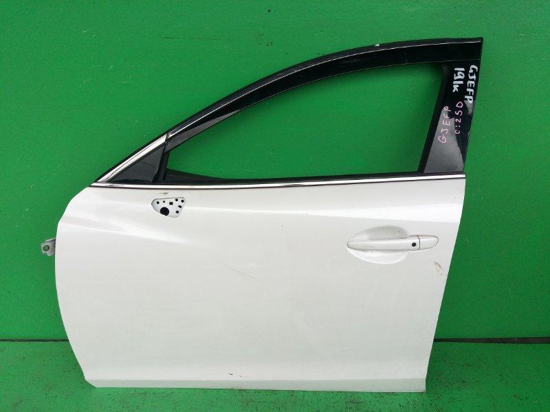 Дверь Mazda Atenza GJEFP передняя левая (б/у)