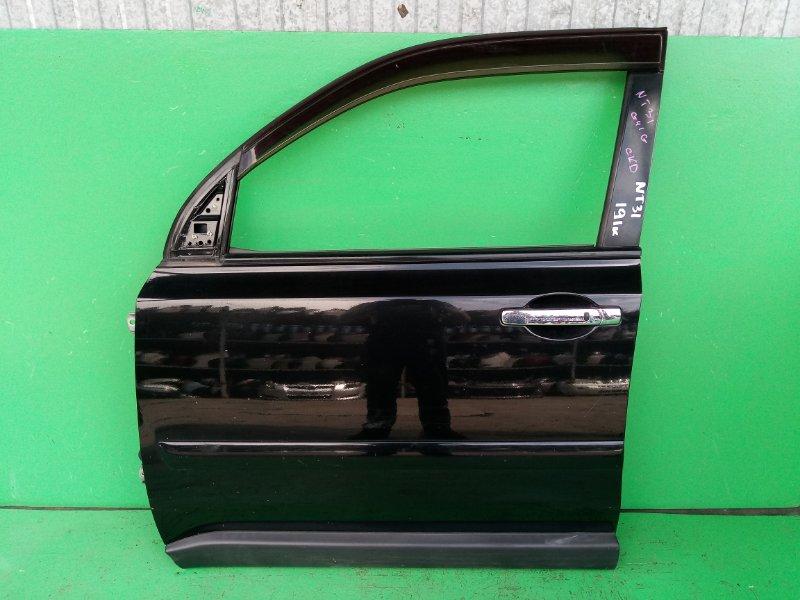 Дверь Nissan Xtrail NT31 передняя левая (б/у)
