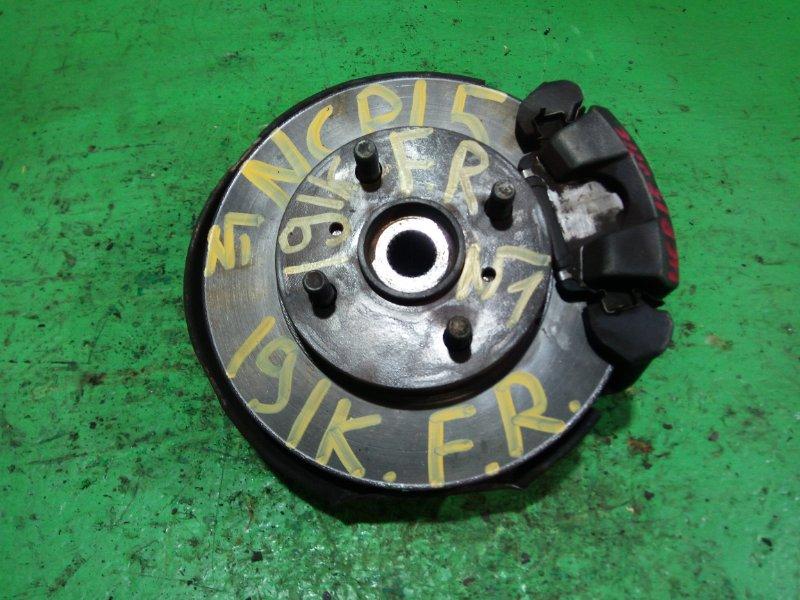 Ступица Toyota Vitz NCP15 передняя правая (б/у) №1