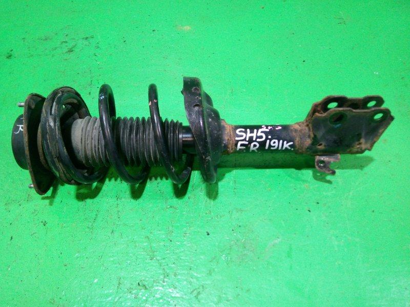 Стойка Subaru Forester SH5 передняя правая (б/у)