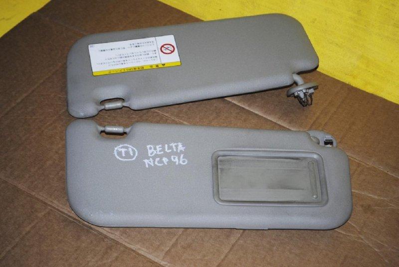 Козырек солнцезащитный Toyota Belta NCP96 (б/у)