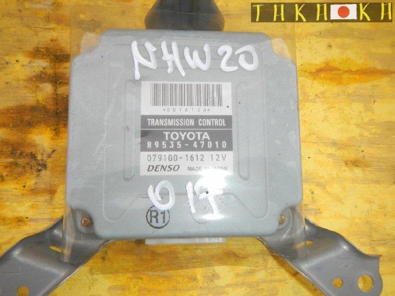 Блок управления акпп Toyota Prius NHW20 (б/у)