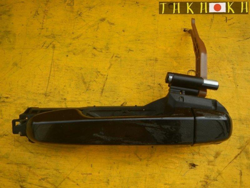 Ручка двери Toyota Vitz NSP130 задняя левая (б/у)