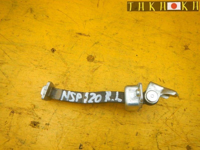 Ограничитель двери Toyota Ractis NCP120 задний левый (б/у)