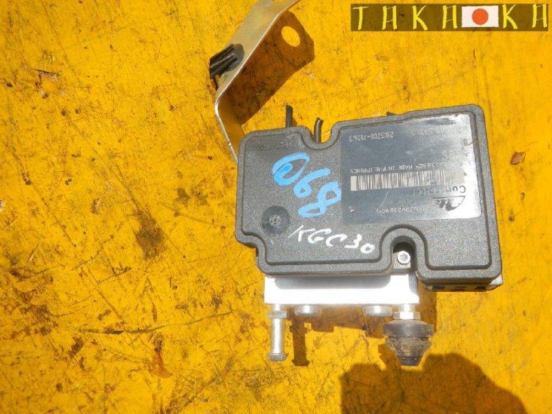 Блок abs Toyota Passo KGC30 (б/у)