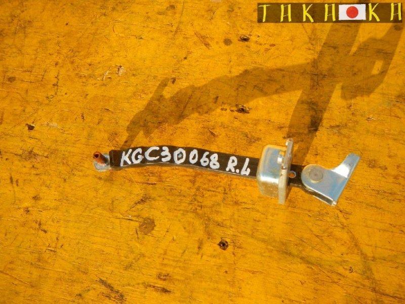 Ограничитель двери Toyota Passo KGC30 задний левый (б/у)