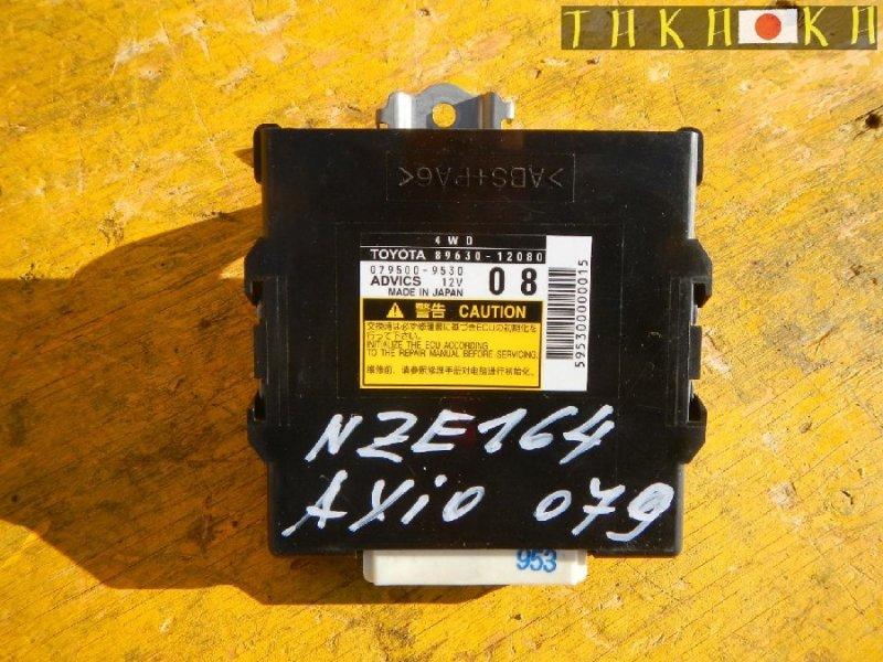 Блок управления abs Toyota Corolla Fielder NKE165 (б/у)