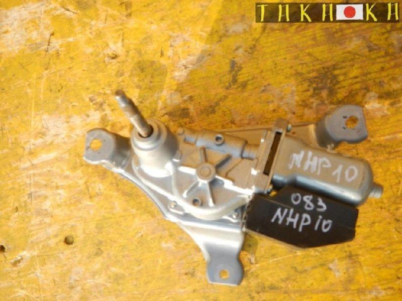 Механизм стеклоочистителя Toyota Aqua NHP10 задний (б/у)