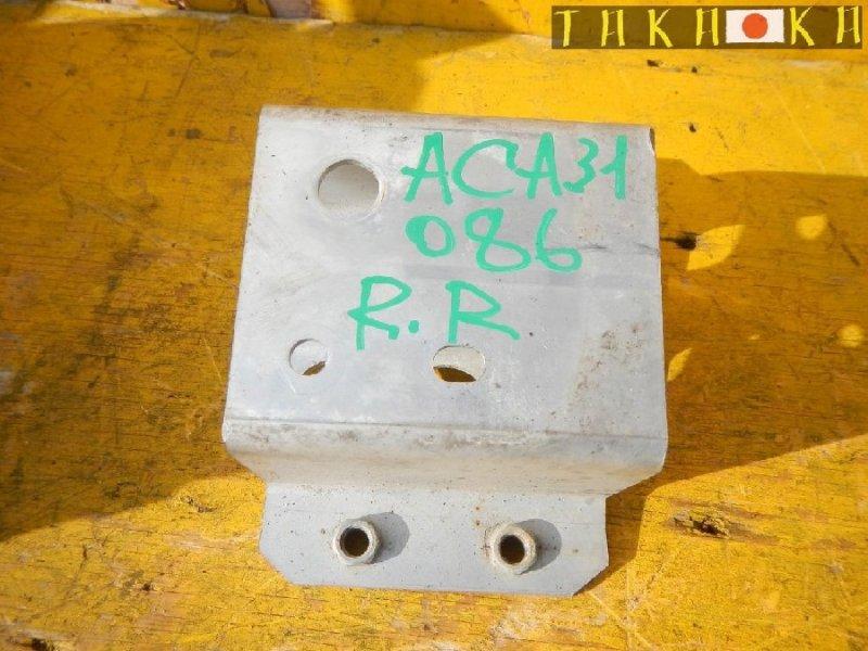 Кронштейн усилителя бампера Toyota Rav4 ACA31 задний правый (б/у)