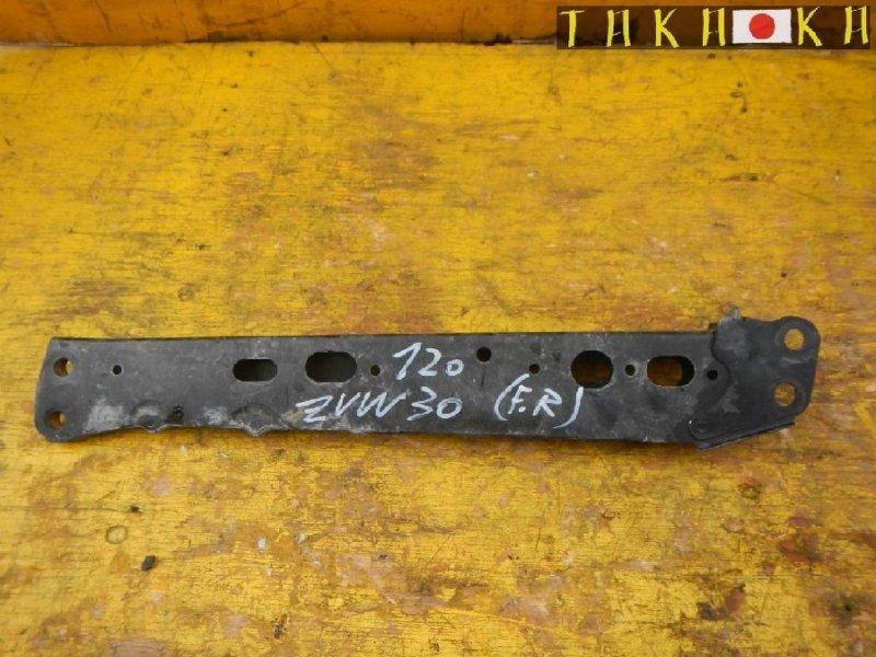 Балка продольная Toyota Prius ZVW30 2ZRFAE передняя правая (б/у)