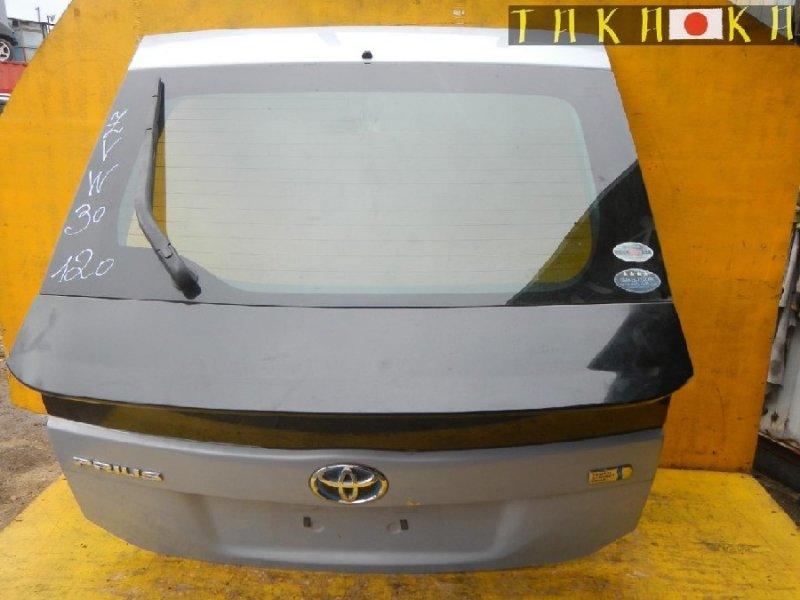 Дверь 5-я Toyota Prius ZVW30 (б/у)