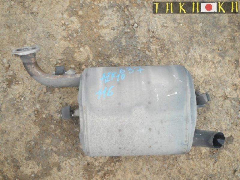 Бочка глушителя Toyota Sai AZK10 (б/у)