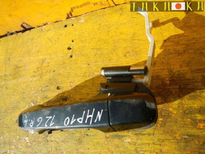 Ручка двери Toyota Aqua NHP10 задняя левая (б/у)