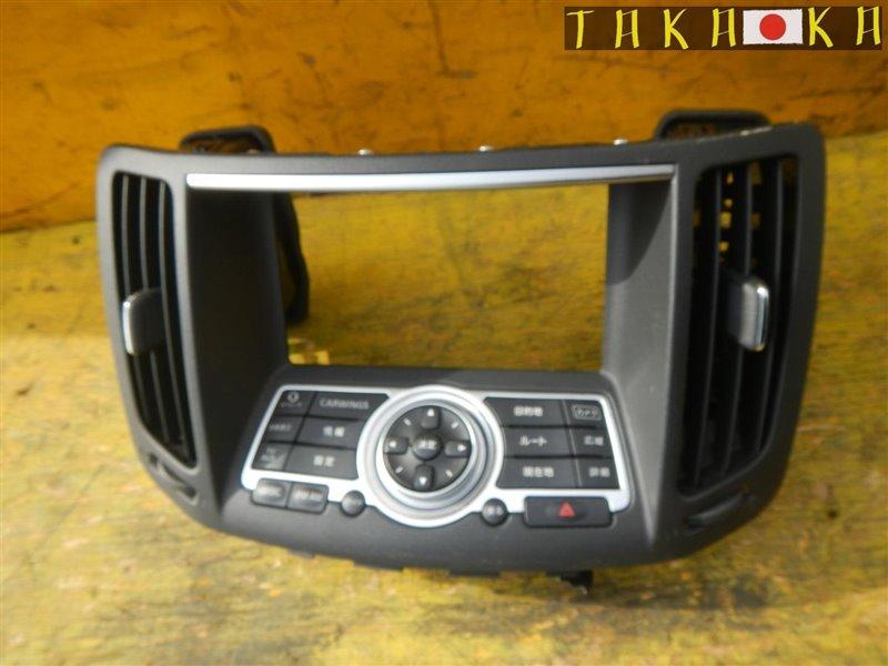 Консоль магнитофона Nissan Skyline V36 VQ25HR 2008 (б/у)