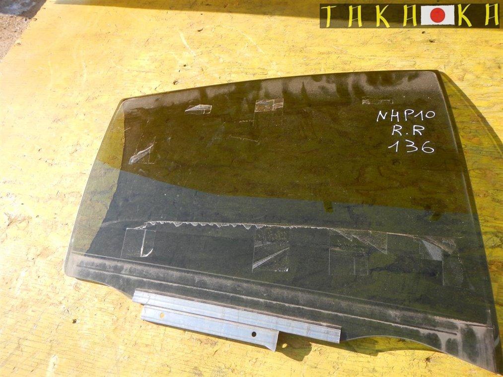 Стекло двери Toyota Aqua NHP10 заднее правое (б/у)
