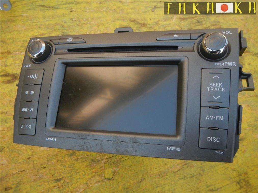 Магнитофон Toyota Corolla Fielder NZE141 1NZFE (б/у)