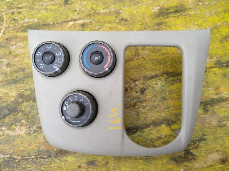 Блок управления климат-контролем Toyota Passo Sette M512E 3SZVE передний (б/у)