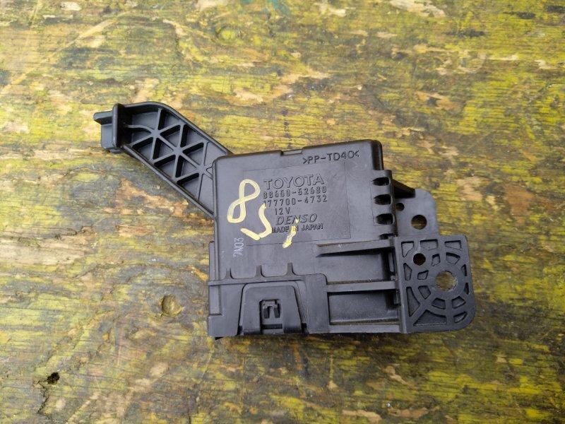 Электронный блок Toyota Ractis NCP120 1NRFE передний (б/у)