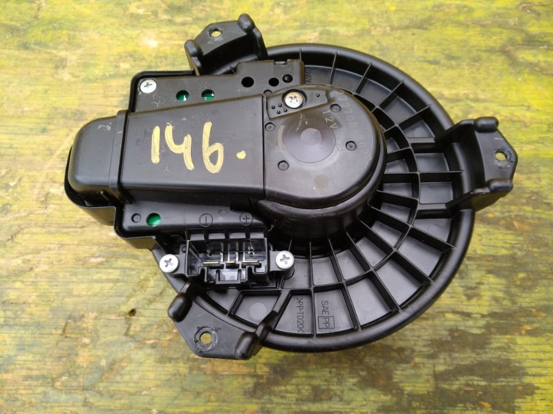 Мотор печки Toyota Ist ZSP110 1NZFE передний (б/у)