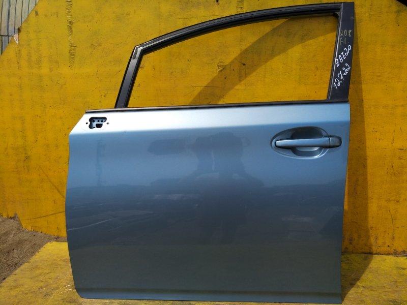 Дверь Toyota Wish ZGE20 2ZRFAE передняя левая (б/у)