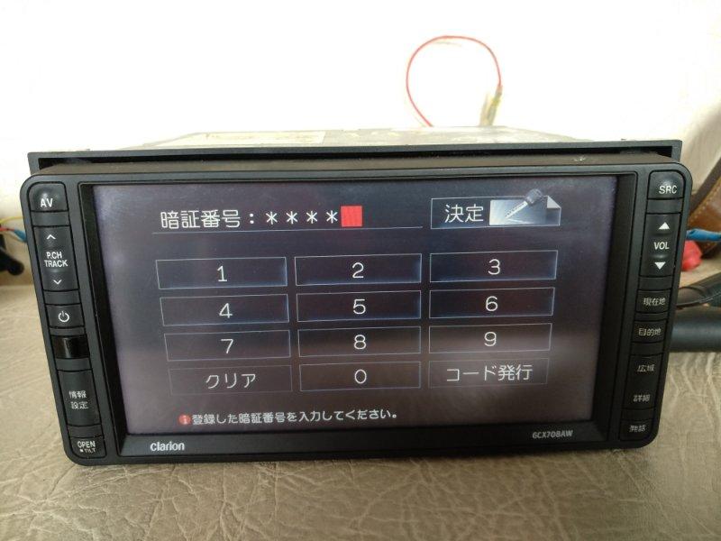 Магнитофон Toyota Allion ZRT260 2ZRFE передний (б/у)