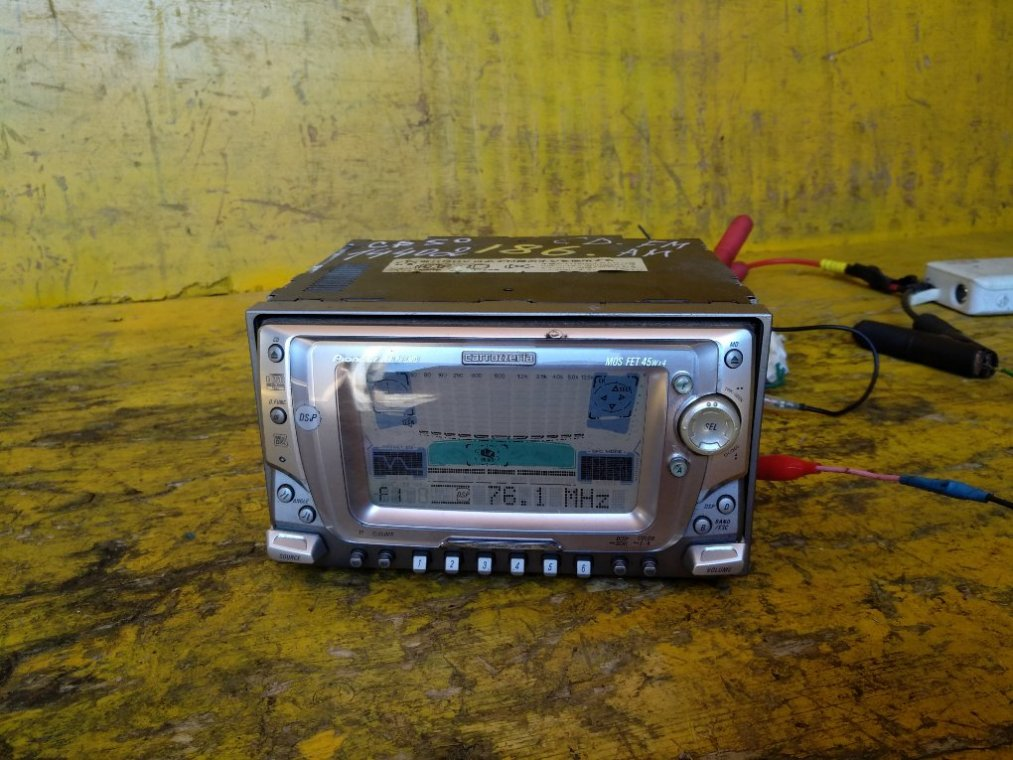 Магнитофон Toyota Noah SR50 3CT 10.1998 передний (б/у)