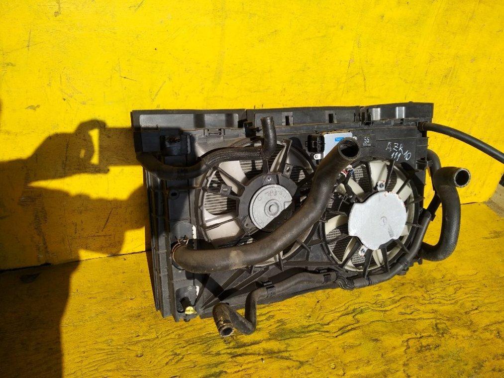 Радиатор основной Toyota Sai AZK10 передний (б/у)