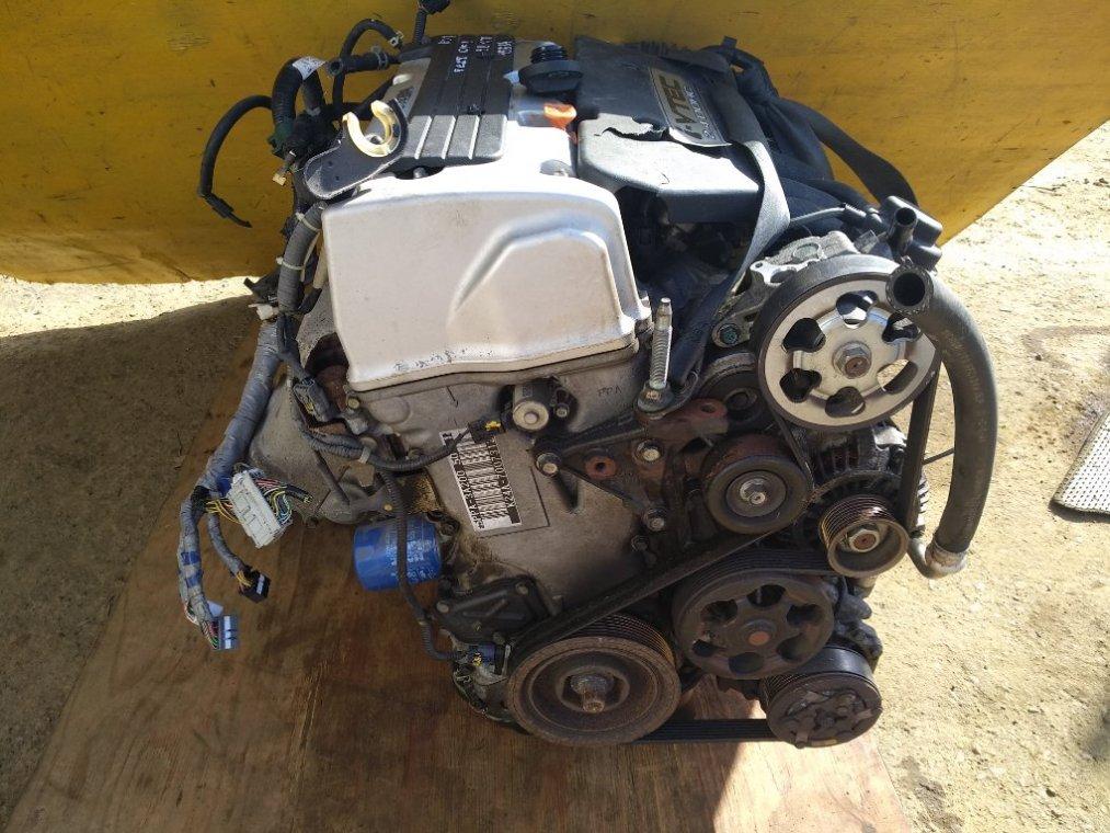Двигатель Honda Cr-V RD7 K24A передний (б/у)