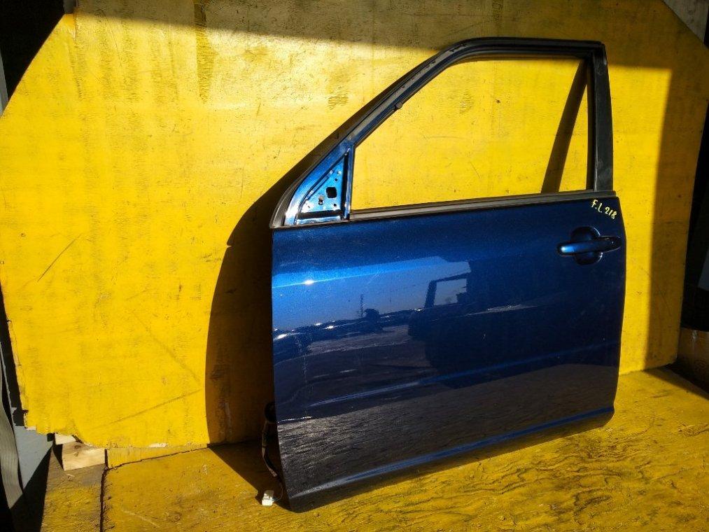 Дверь Toyota Succeed NHP160 1NZFE передняя левая (б/у)