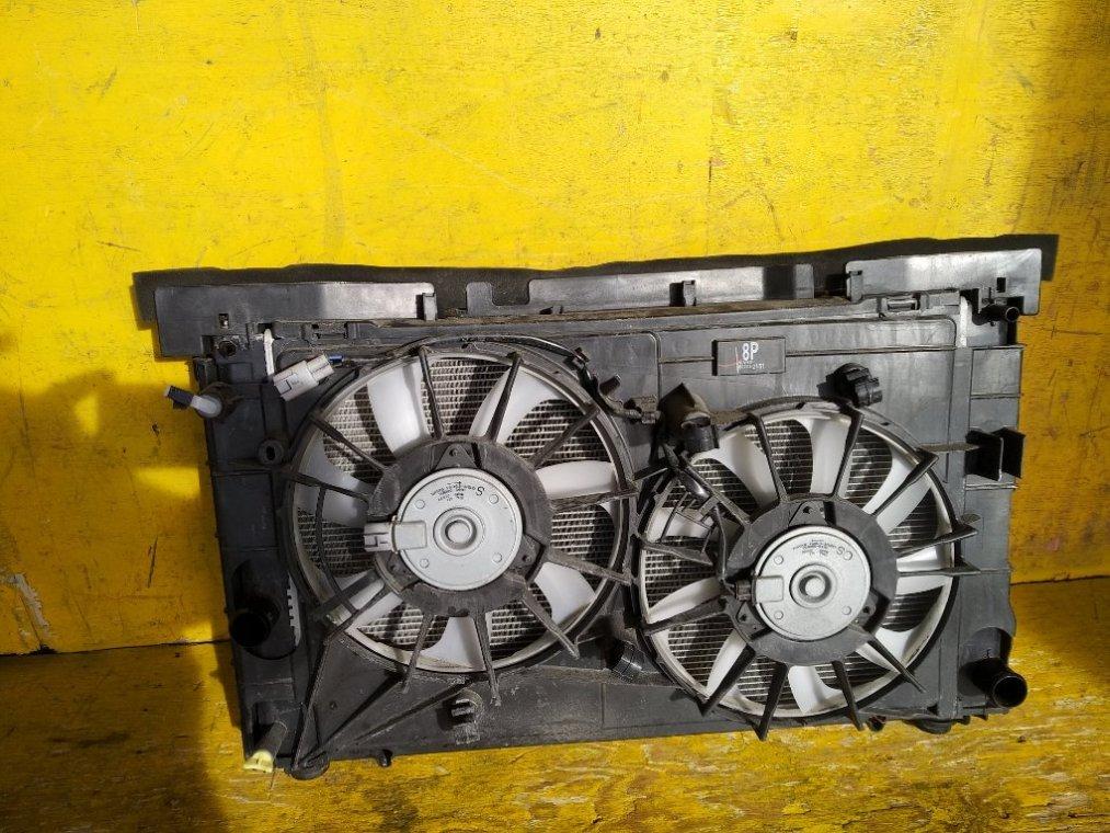 Радиатор основной Toyota Prius Alpha ZVW41 2ZRFXE передний (б/у)