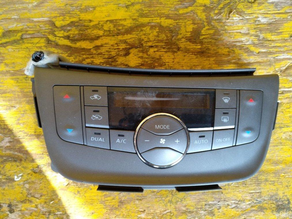Блок управления климат-контролем Nissan Sylphy TB17 MRA8 передний (б/у)