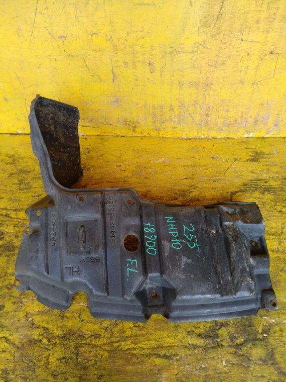 Защита двигателя Toyota Aqua NHP10 1NZFXE передняя левая (б/у)