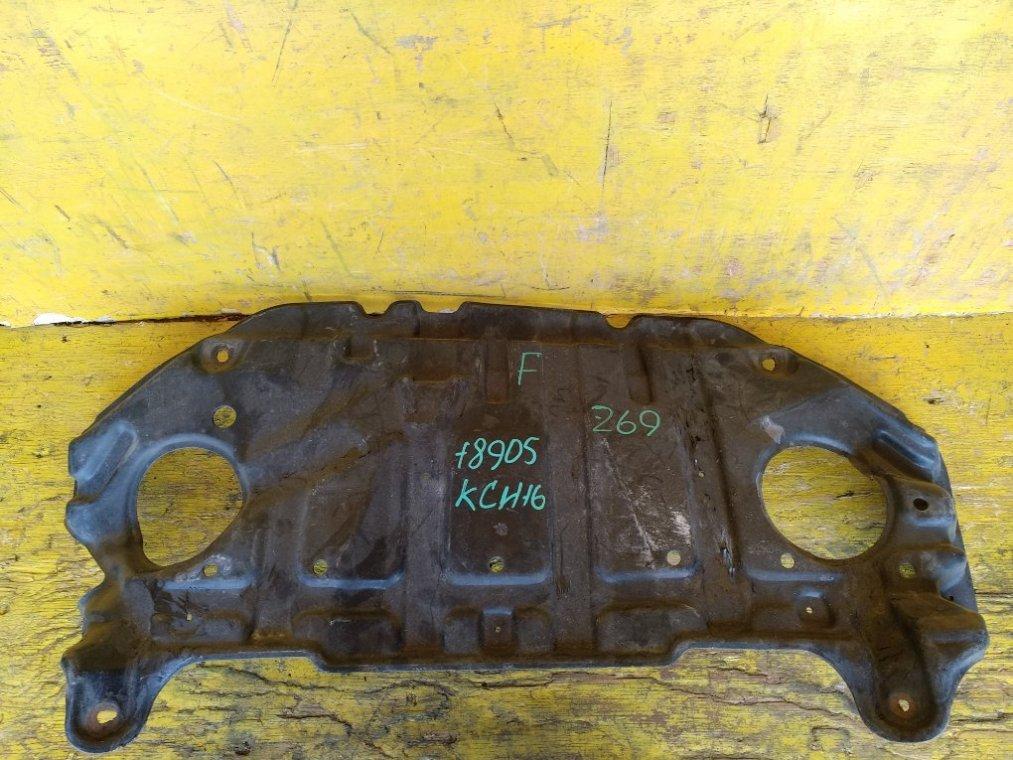 Защита двигателя Toyota Granvia RCH11W 1KZTE передняя (б/у)