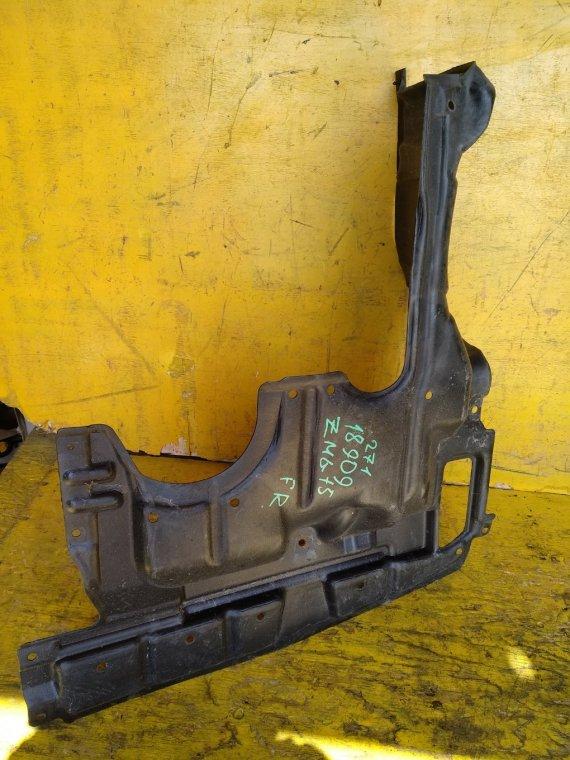 Защита двигателя Toyota Isis ZGM10G 2ZRFAE передняя правая (б/у)