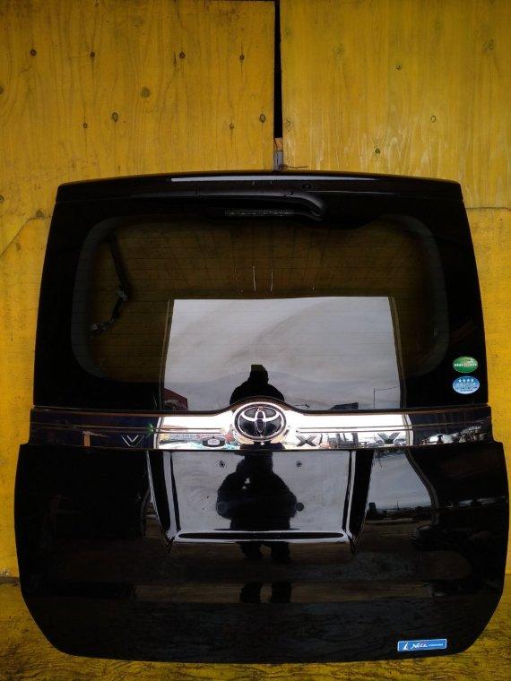 Дверь 5-я Toyota Voxy ZRR80 3ZRFAE задняя (б/у)