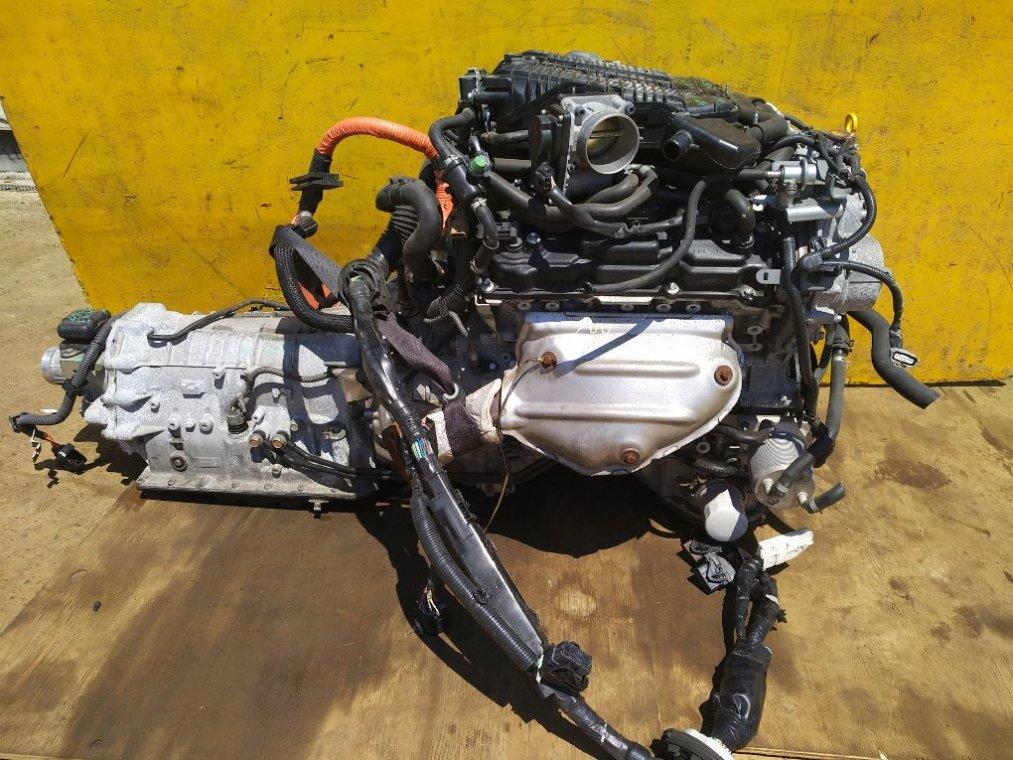 Двигатель Nissan Fuga HY51 VQ35HR (б/у)