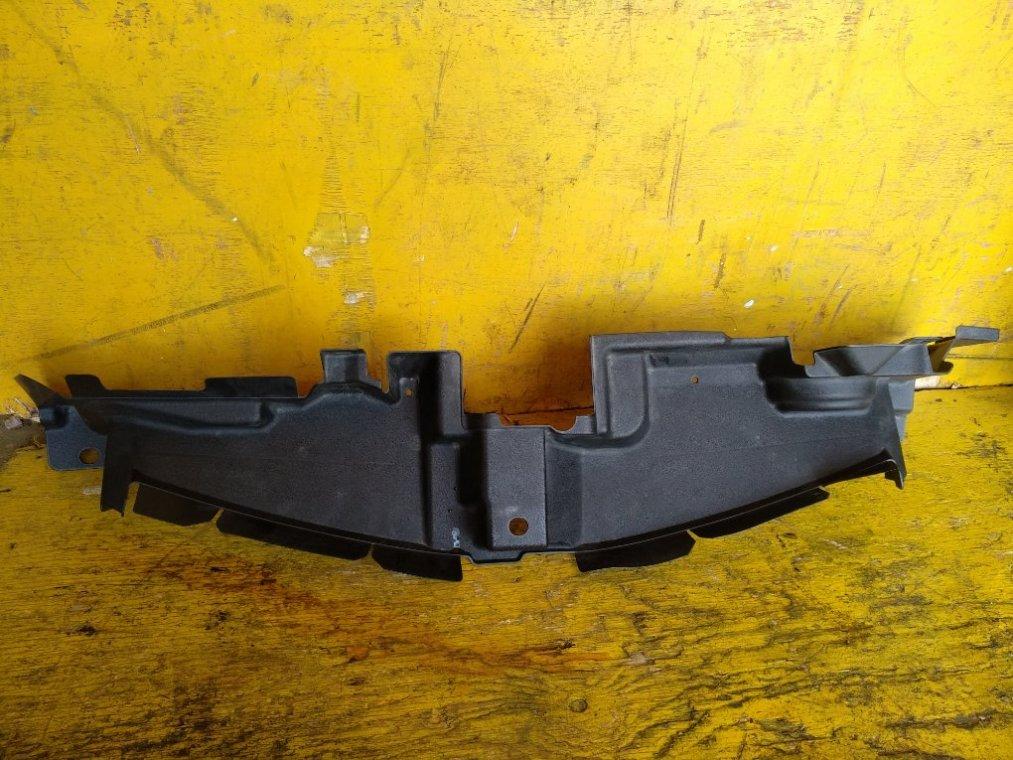 Пластм. защита над радиатором Toyota Corolla Fielder NZE161 1NZFE передний (б/у)