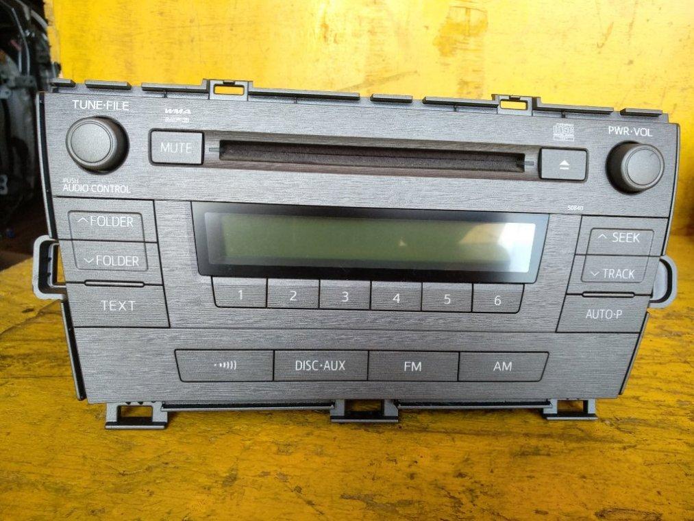 Магнитофон Toyota Prius ZVW30 2ZRFXE (б/у)