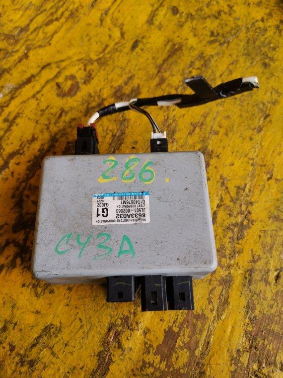 Электронный блок Mitsubishi Galant Fortis CY3A 4B10 (б/у)