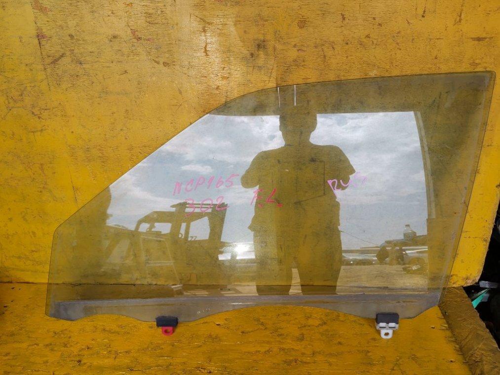 Стекло двери Toyota Succeed NCP165 1NZFE переднее левое (б/у)
