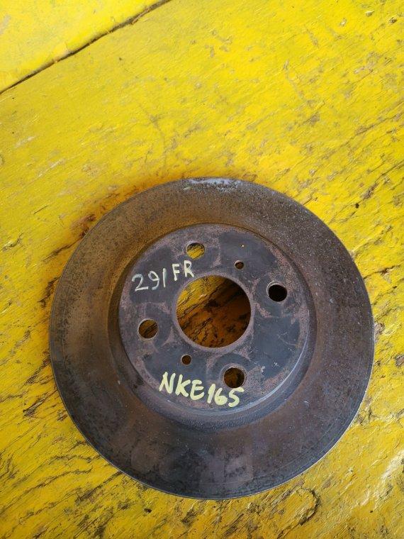 Тормозной диск Toyota Corolla Fielder NKE165 1NZFXE передний (б/у)
