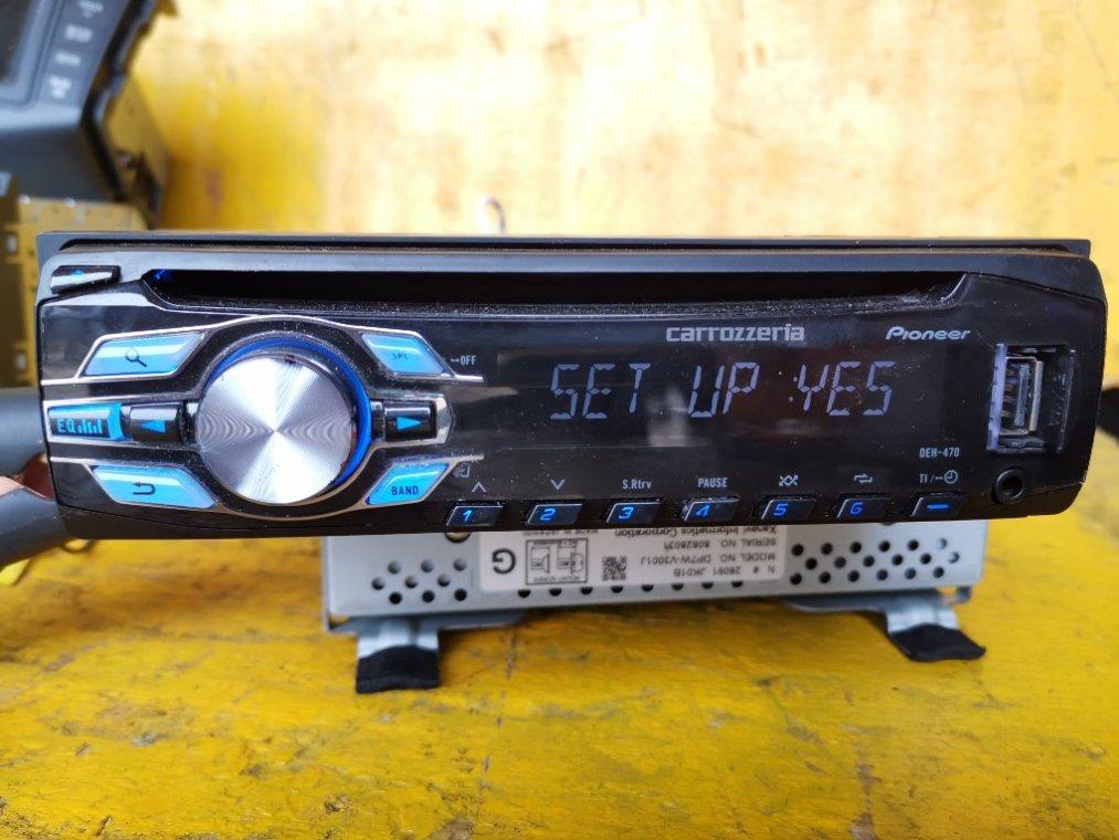 Магнитофон Suzuki Jimny JB23W K6A (б/у)